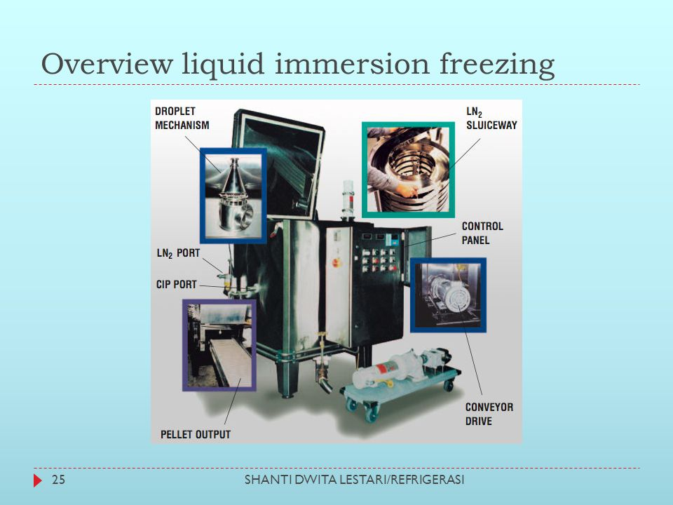 Overview liquid immersion freezing 25SHANTI DWITA LESTARI/REFRIGERASI