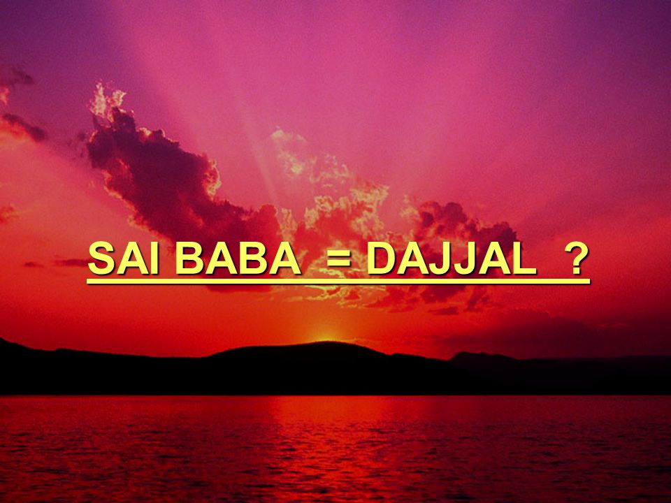4.Dajjal datang dgn bersama gunung roti (tepung) & sungai Air 4.