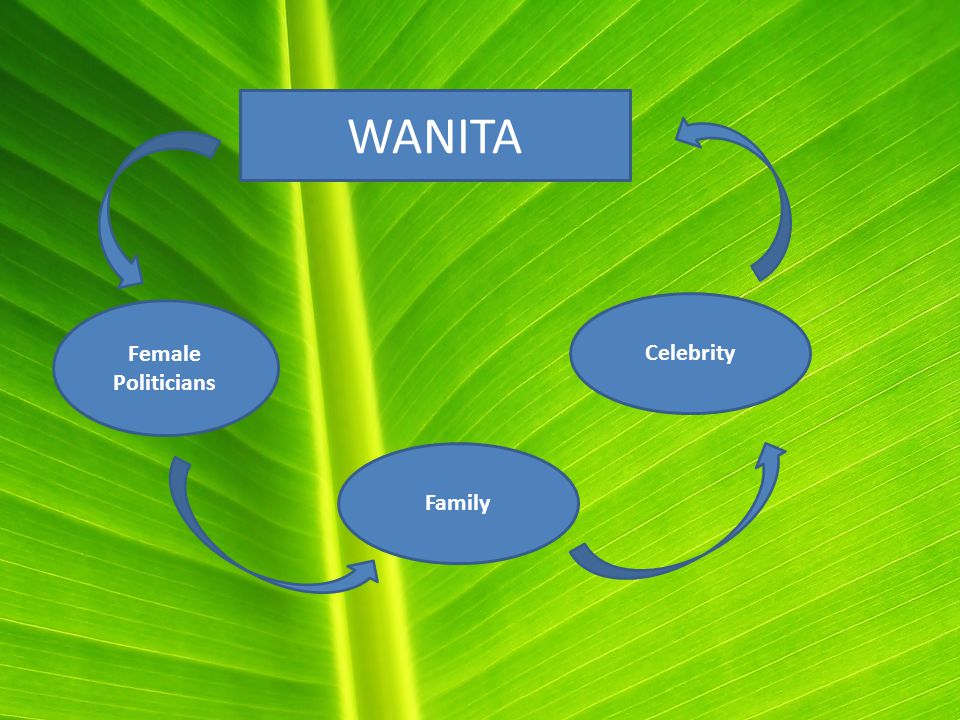 WANITA Female Politicians Family Celebrity