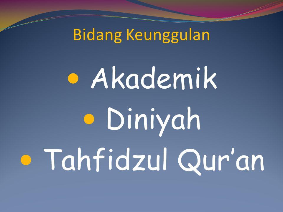 Bidang Keunggulan Akademik Diniyah Tahfidzul Qur'an