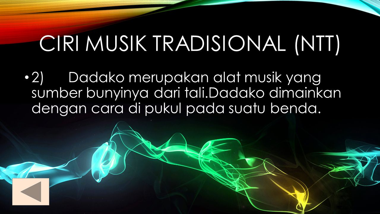 1) Sasando merupakan alat musik siter yang terbuat dari bambu yang terdiri atas 36 dawai yang di buat dari logam,sedangkan resonatornya di buat dari daun palem yang di susun atau di rangkai dalam bentuk mangkok yang meliputi siter.Sasando merupakan alat musik yang berasal dari P.Rote Nusa Tenggara Timur.Cara memainkannya dengan di petik.Alat musik ini hampir sama dengan gitar.