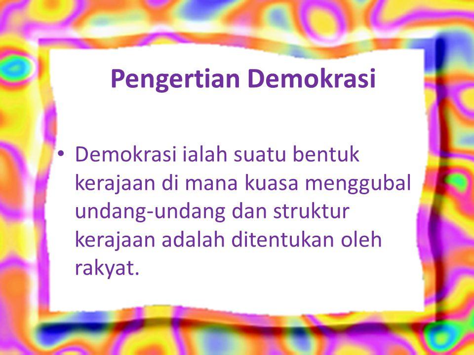Indonesia telah melalui empat masa demokrasi dengan berbagai versi.