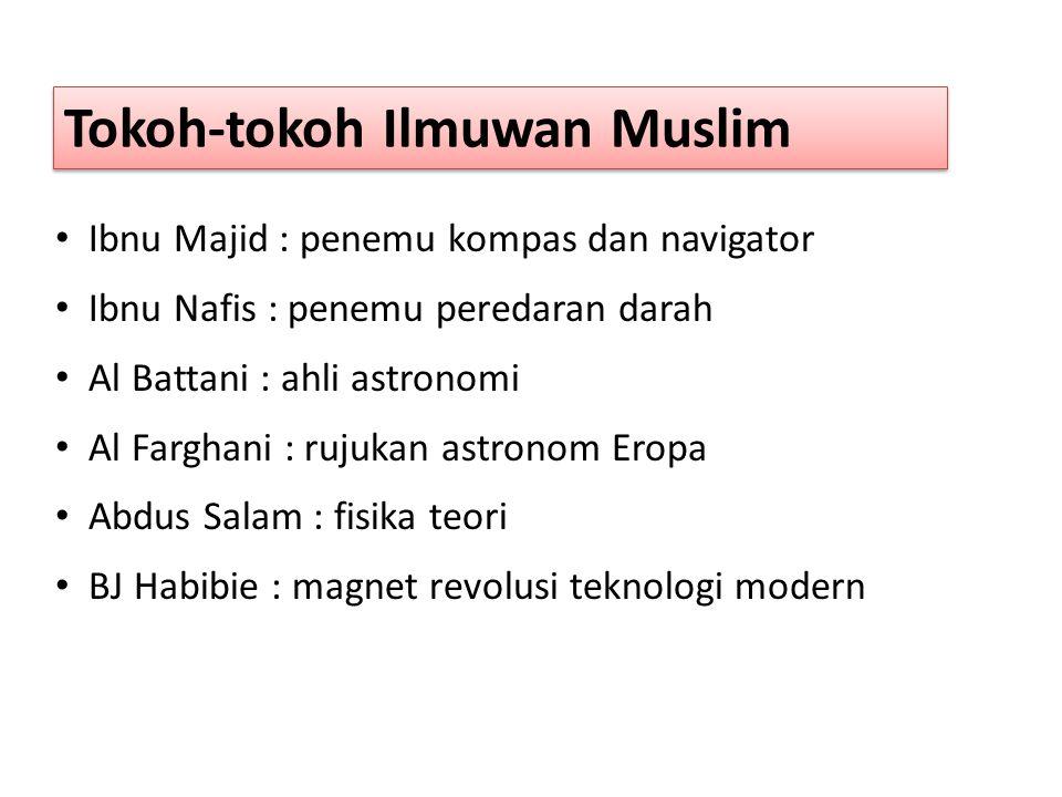 Umat Islam masa kini ketinggalan jauh dalam hampir semua bidang keilmuan, maka kita perlu mendidik serta melatih generasi muda agar : menguasai pelbagai ilmu pengetahuan, termasuk kepakaran dalam bidang sains dan teknologi.