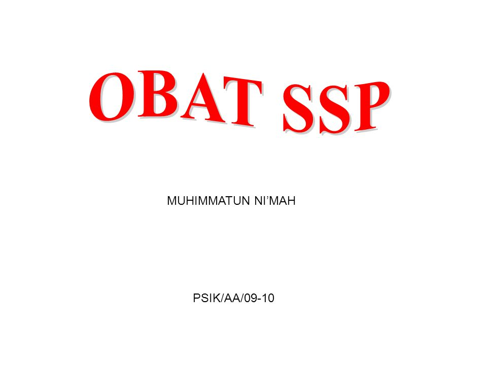MUHIMMATUN NI'MAH PSIK/AA/09-10