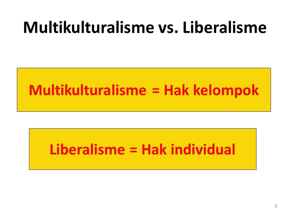 9 Indonesia ≠ Melting Pot Indonesia bukan campuran antara berbagai jenis orang melebur dalam satu kultur baru.