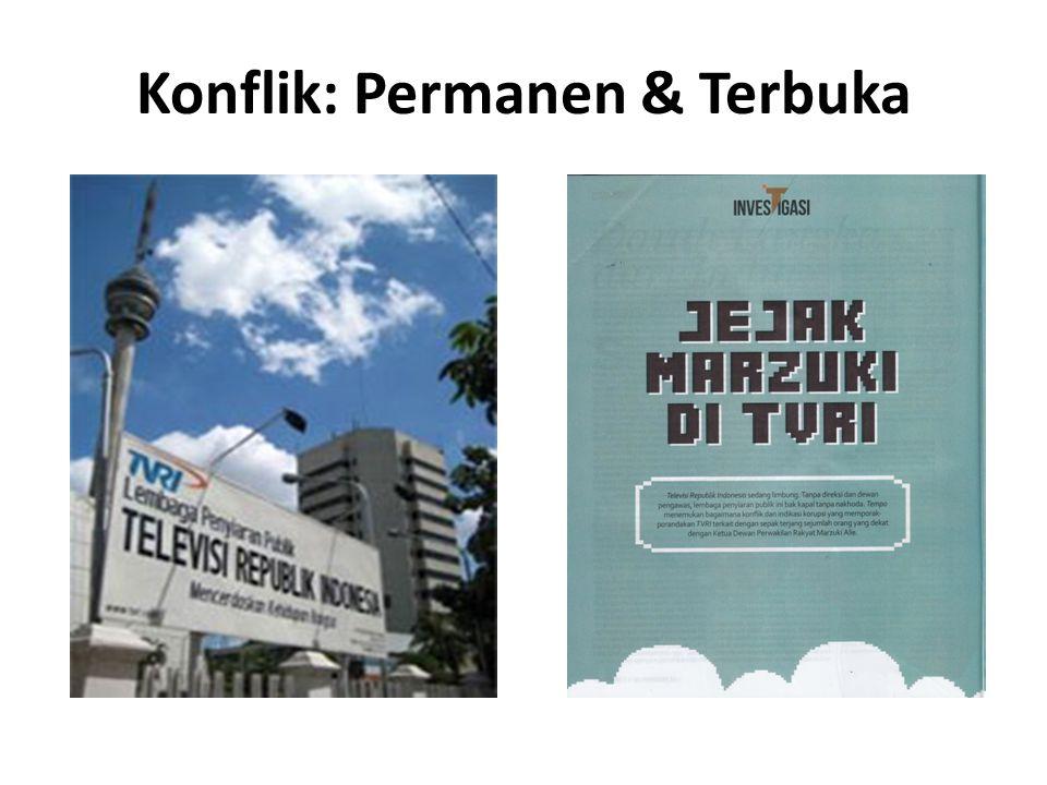 Konflik: Permanen & Terbuka