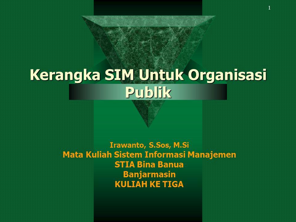 Organisasi swasta yang dihadapkan langsung pada kelangsungan hidup organisasi, maka dalam dimensi manajemennya sangat berbeda dari organisasi publik.