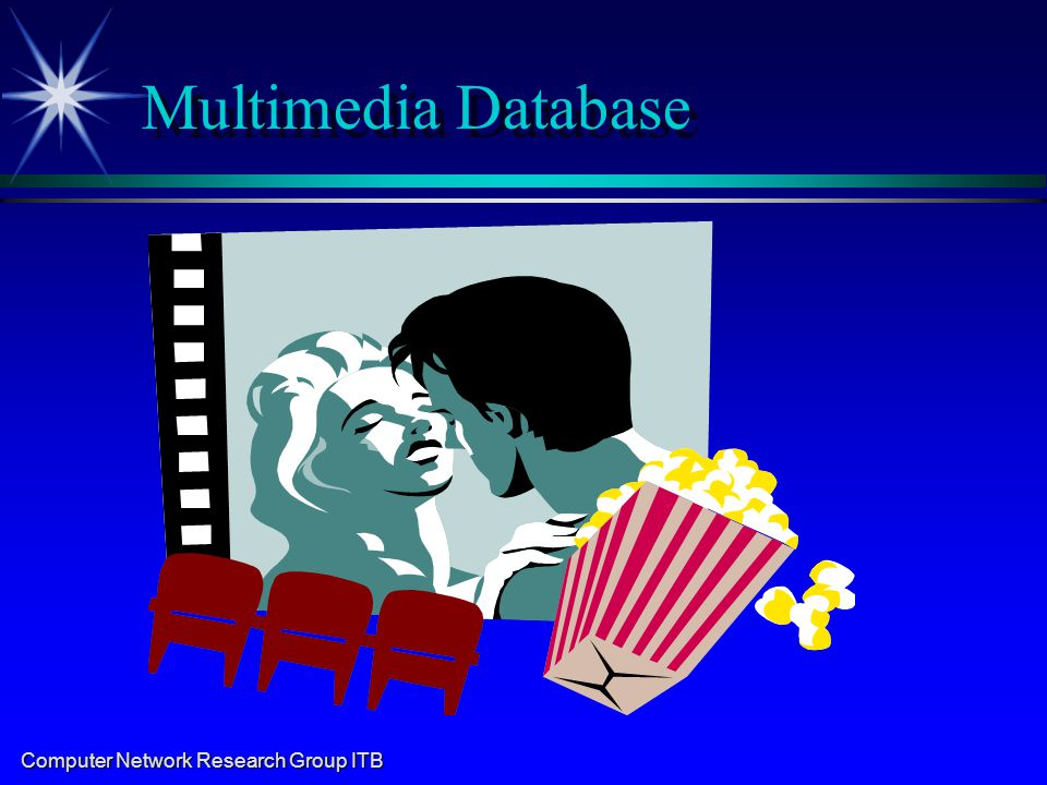 Computer Network Research Group ITB Multimedia Database