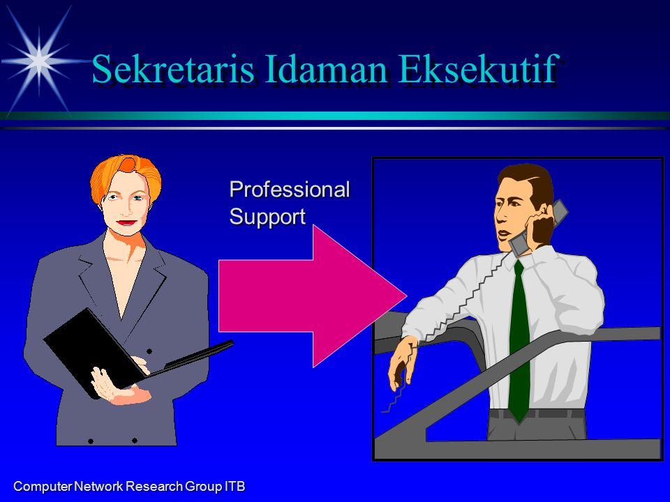 Computer Network Research Group ITB Sekretaris Idaman Eksekutif ProfessionalSupport