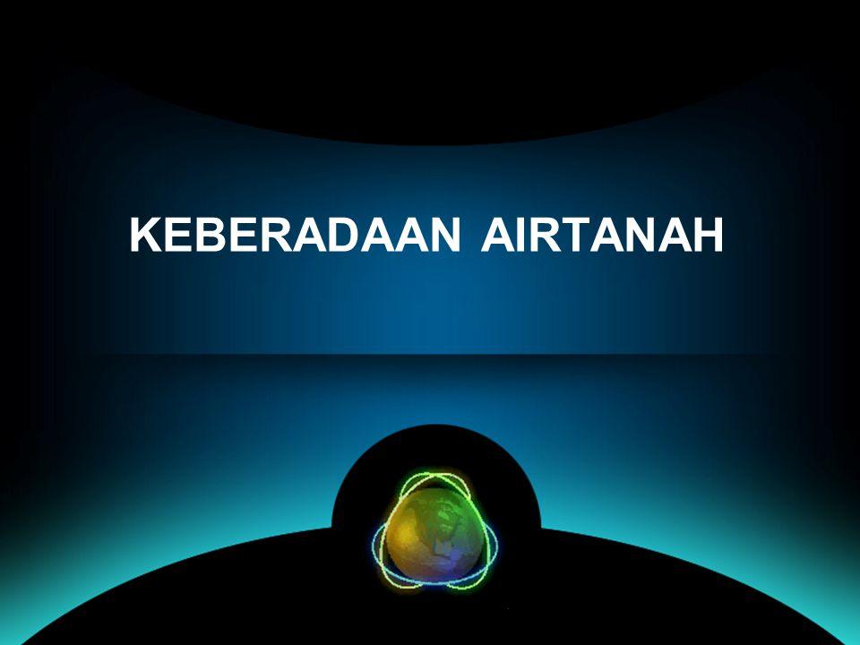 KEBERADAAN AIRTANAH