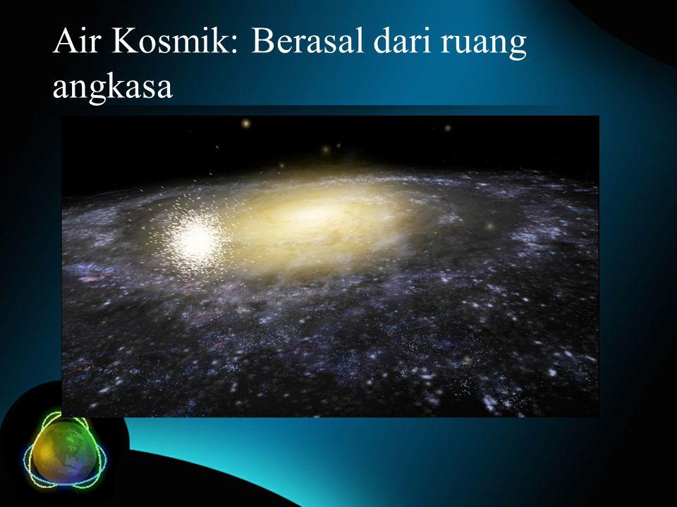 Air Kosmik: Berasal dari ruang angkasa