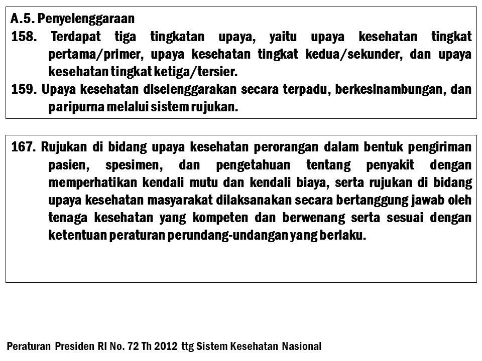 Pasal 12 (1) Rujukan harus mendapatkan persetujuan dari pasien dan/atau keluarganya.