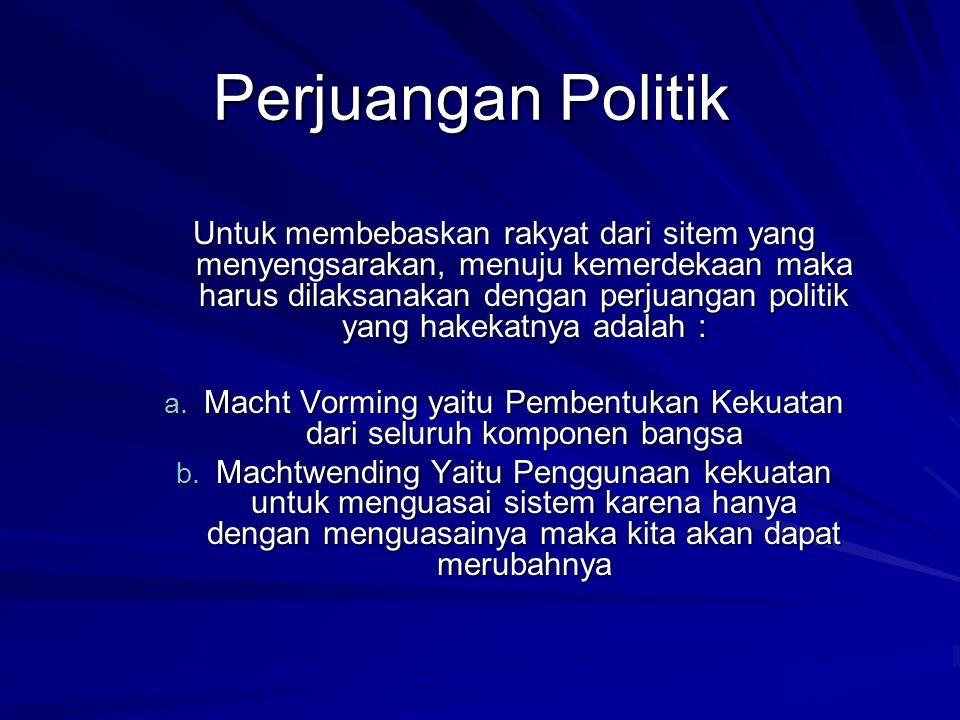 PERSIAPAN KEMERDEKAAN Sebelum proklamasi kemerdekaan, tepatnya tanggal 1 Juni 1945, Bungkarno berpidato pada sidang Dokuritsu Zyunbi Tyoosakai ( Badan Penyelidik Usaha Persiapan Kemerdekaan), di forum tersebut Bungkarno menjawab pertanyaan Ketua Sidang yaitu Dr.