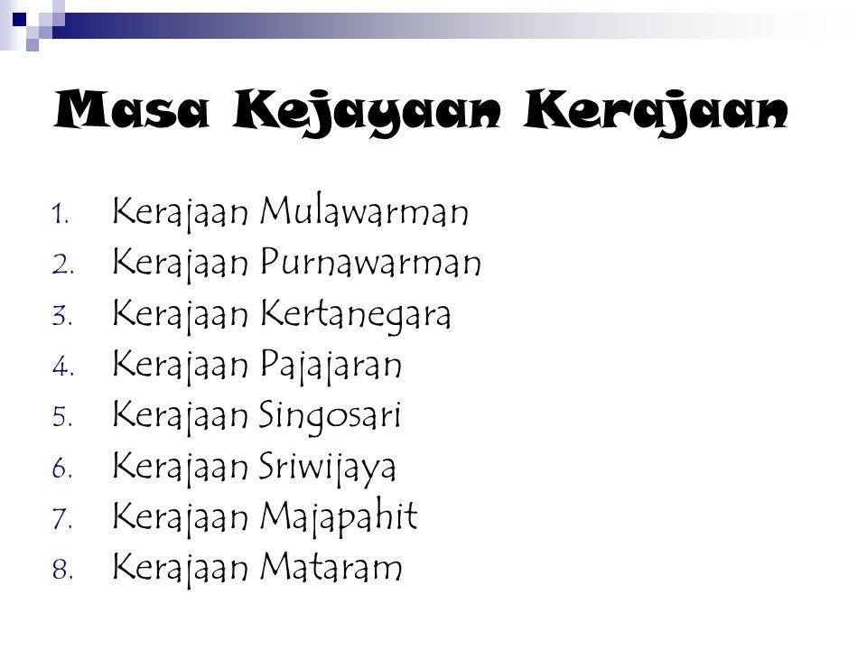 Nilai-nilai Budaya Bangsa semasa Kejayaan Sriwijaya 1.