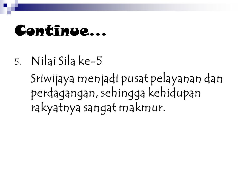 Continue… 5.