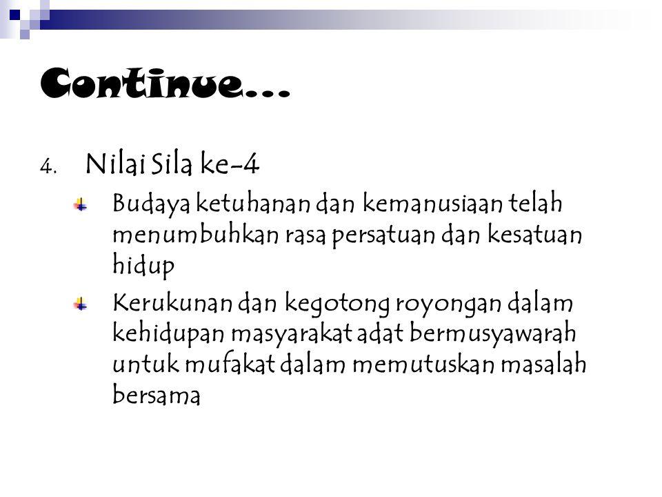 Continue… 4.