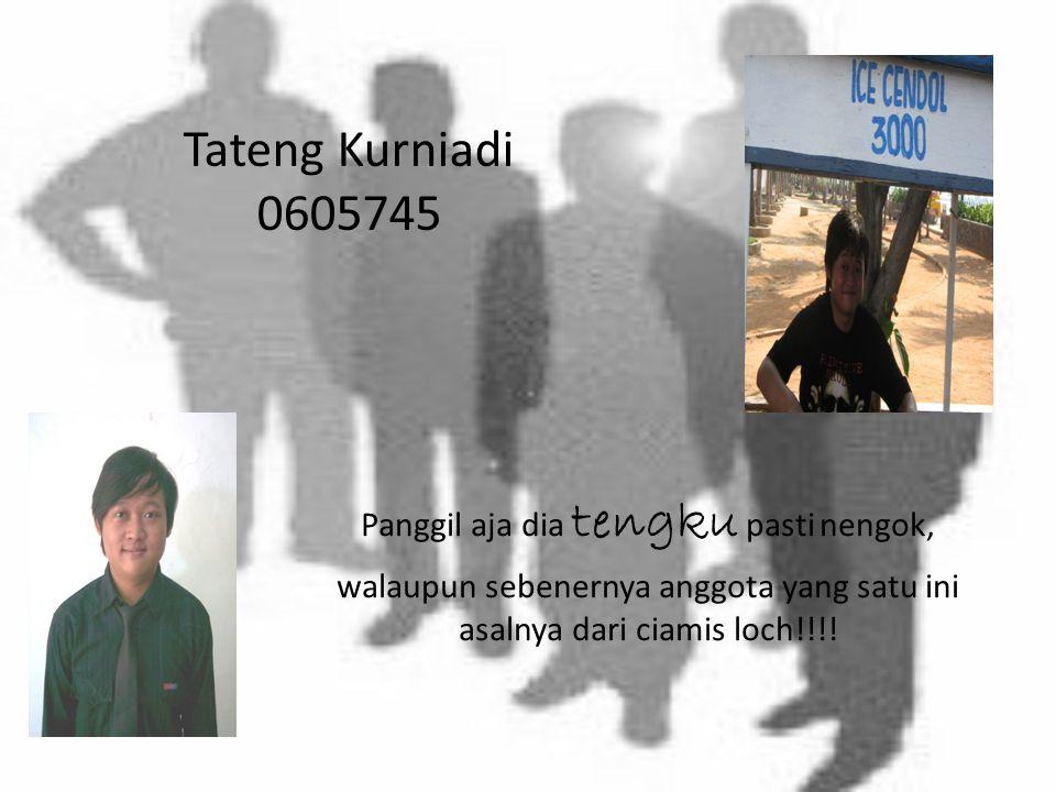 """Sugaepi NIM:0605704 Asalnya dari Bogor… Namanya uniq, tapi Panggil aja anggota ini dengan sebutan """" vie"""""""