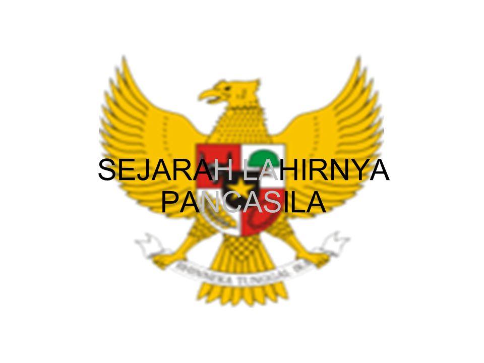 LATAR BELAKANG SEJARAH PERUMUSAN PANCASILA 1.Sebagai warga negara dan warga masyarakat, setiap manusia Indonesia mempunyai kedudukan, hak, dan kewajiban yang sama.