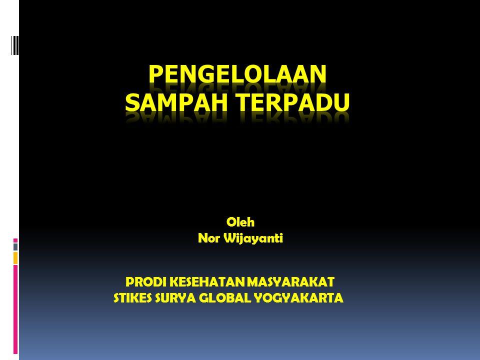 Oleh Nor Wijayanti PRODI KESEHATAN MASYARAKAT STIKES SURYA GLOBAL YOGYAKARTA