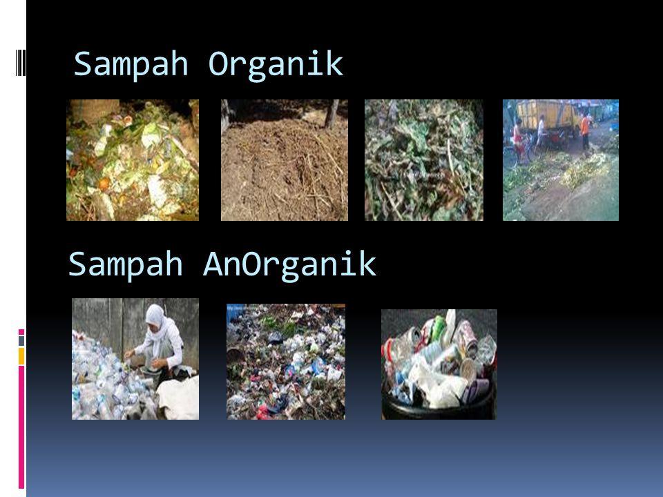 Sumber sampah :  1.