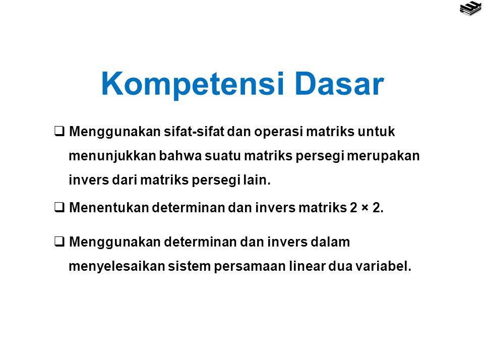 3. Perkalian Matriks Berordo m x n terhadap Matriks Berordo n x p