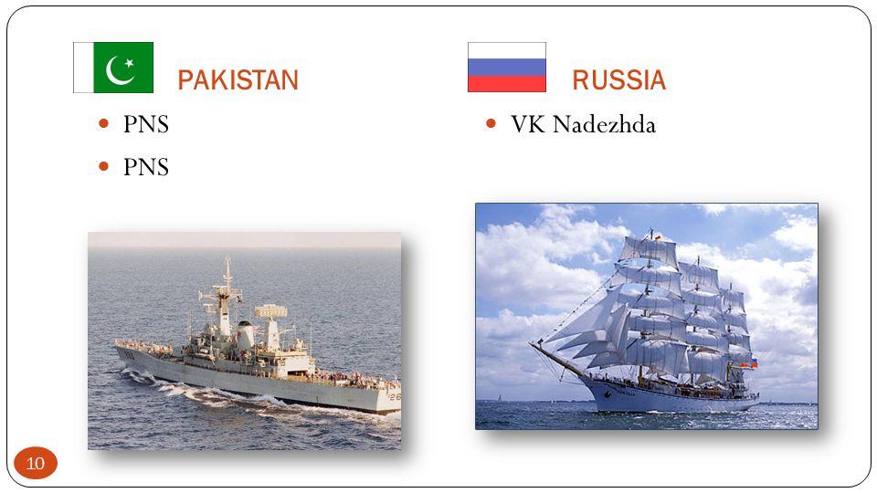 PAKISTANRUSSIA PNS VK Nadezhda 10