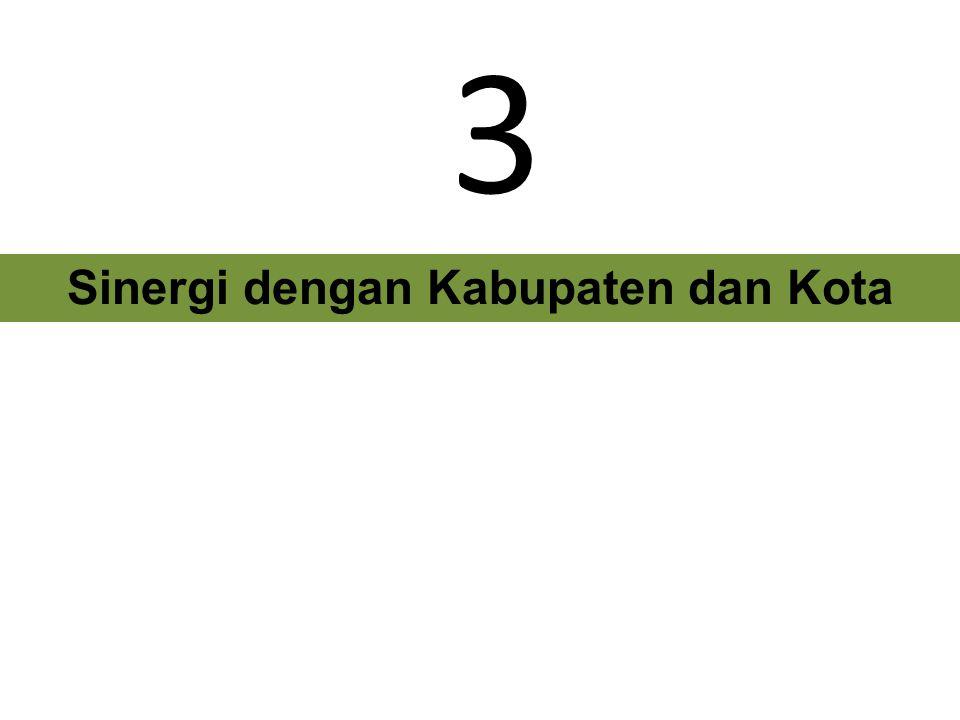 Sinergi dengan Kabupaten dan Kota 3