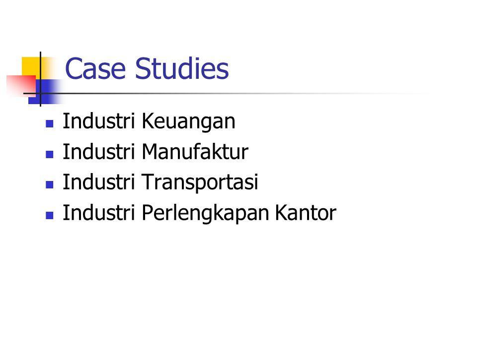 Case Study: Industri Keuangan