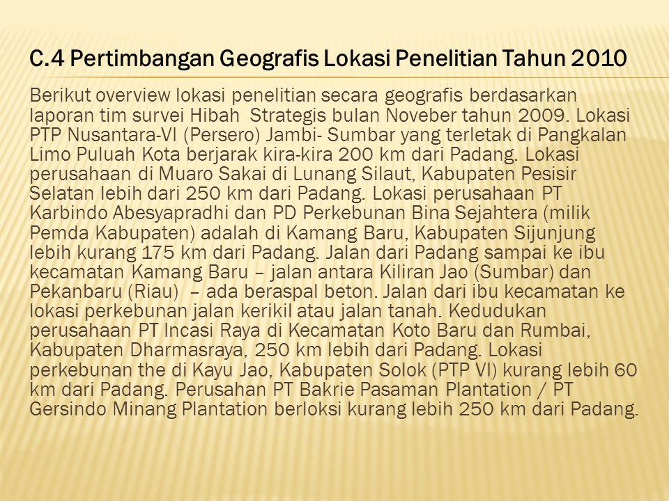 Gambar 4.4: Perkebunan Teh di Kabupaten Solok Foto: Badan Koordinasi penanaman Modal 2009 Perkebunan teh yang berlokasi di Kabupaten Solok Sumatera Ba