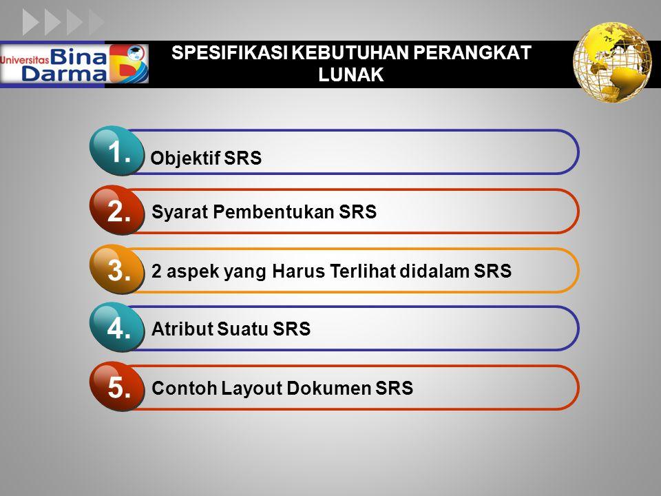 LOGO  Ada 9 macam orang yang terlibat dalam pembuatan SRS : 1.