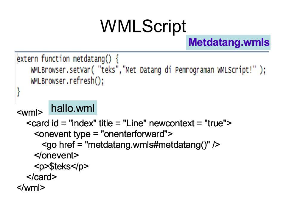 WMLScript