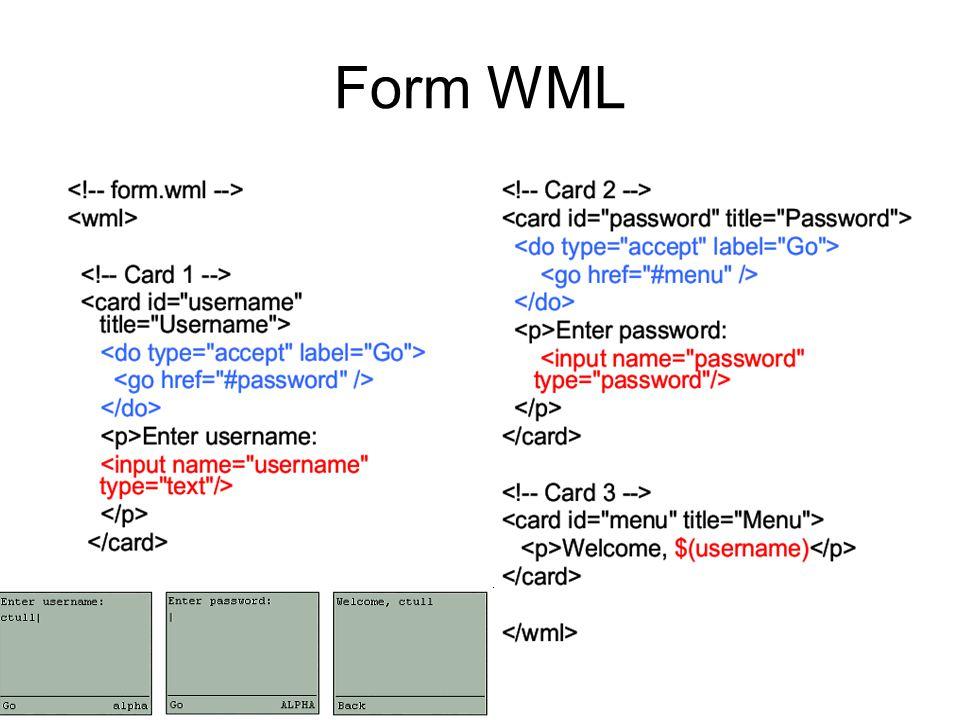 Form WML