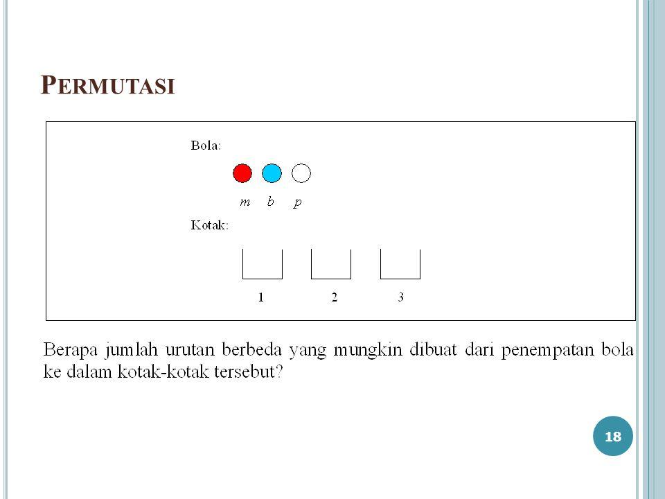 P ERMUTASI 18