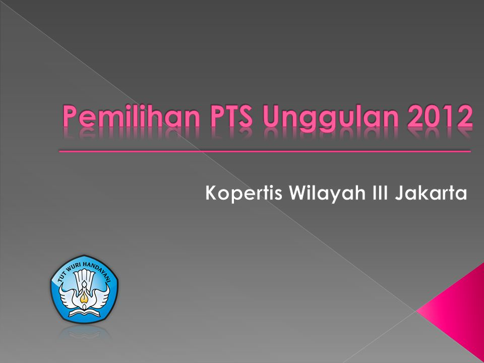 1.Melakukan pemetaan terhadap Perguruan Tinggi di Lingkungan Kopertis Wilayah III Jakarta 2.Memberikan penghargaan kepada perguruan tinggi yang telah melakukan praktik baik ( best practice ) 3.Mendorong perguruan tinggi untuk meningkatkan daya saing dan kerjasama antarlembaga.