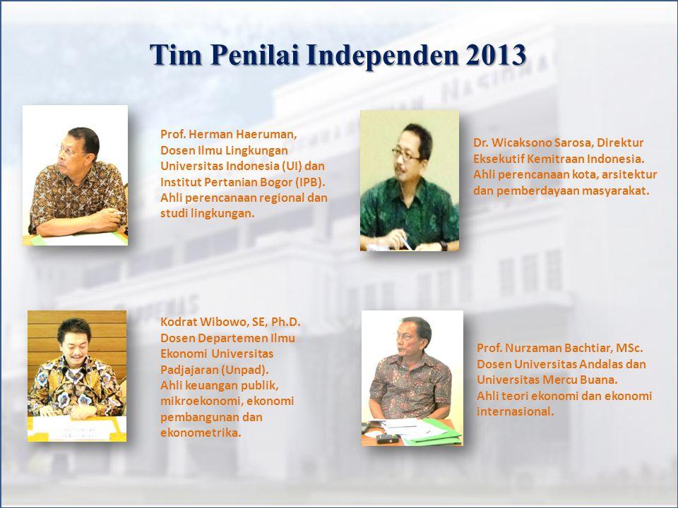 Tim Penilai Independen 2013 Prof.