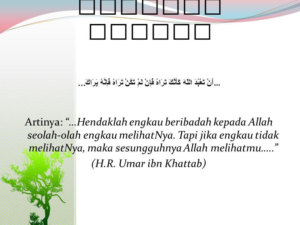 Nurkholis Madjid Sikap pasrah kpd Tuhan adalah merupakan hakikat dari pengertian Islam. Dari pengertian itu seolah Nurkholis Madjid ingin mengajak kit