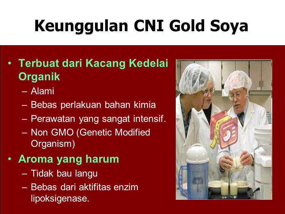 Terbuat dari Kacang Kedelai Organik –Alami –Bebas perlakuan bahan kimia –Perawatan yang sangat intensif. –Non GMO (Genetic Modified Organism) Aroma ya
