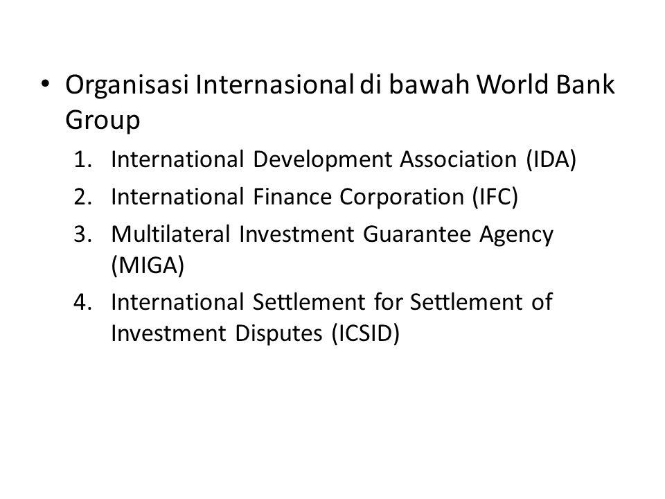 International Development Association (IDA)