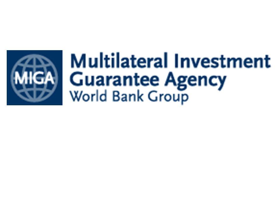 Tujuan utama MIGA adalah menggalakkan penanaman modal untuk tujuan-tujuan produktif di negara-negara sedang berkembang.