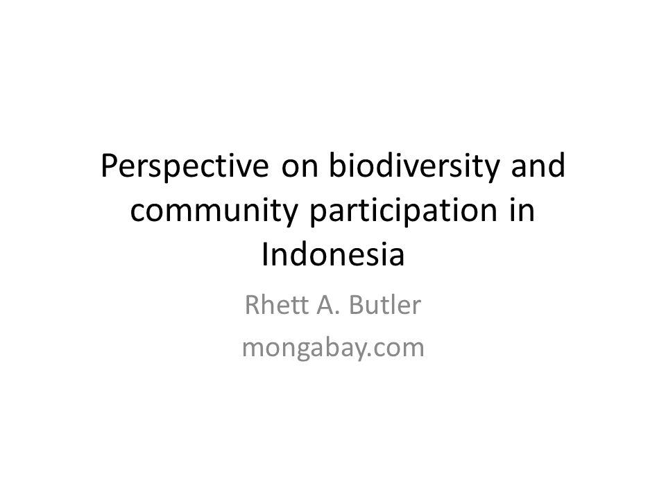 Biodiversity: What is it? Keanekaragaman Hayati: Apa itu?