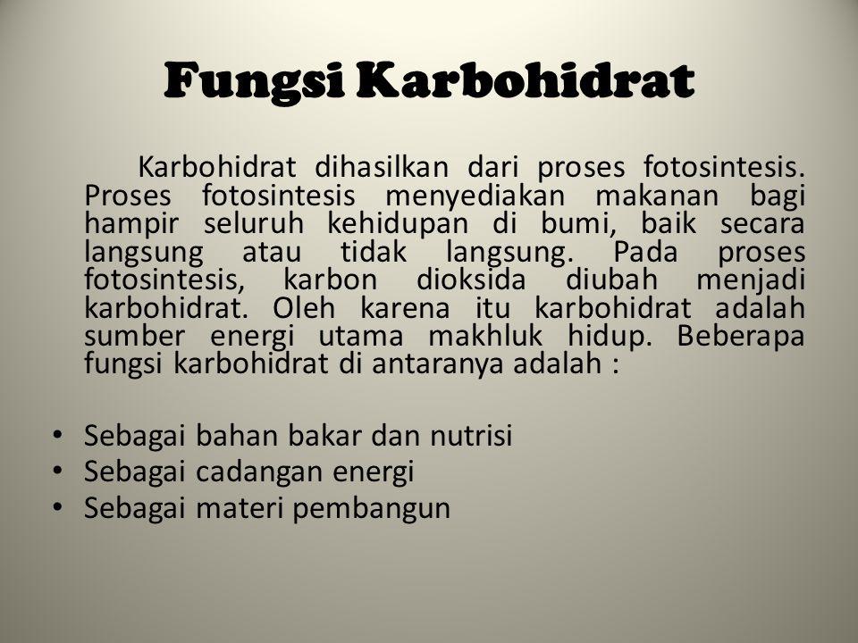 KLASIFIKASI KARBOHIDRAT 4.