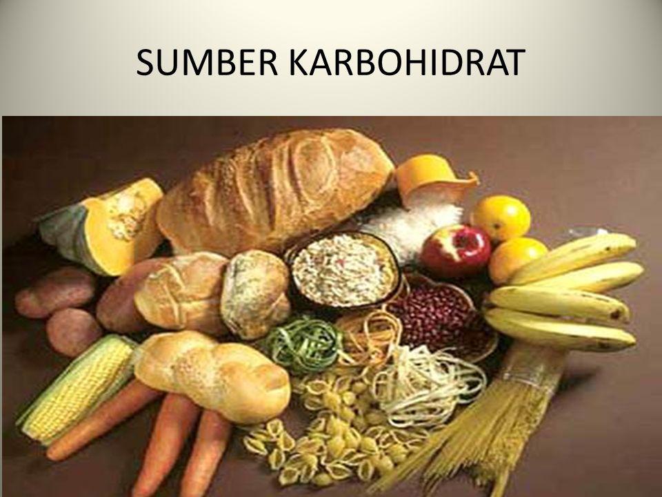 Fungsi Karbohidrat Karbohidrat dihasilkan dari proses fotosintesis.