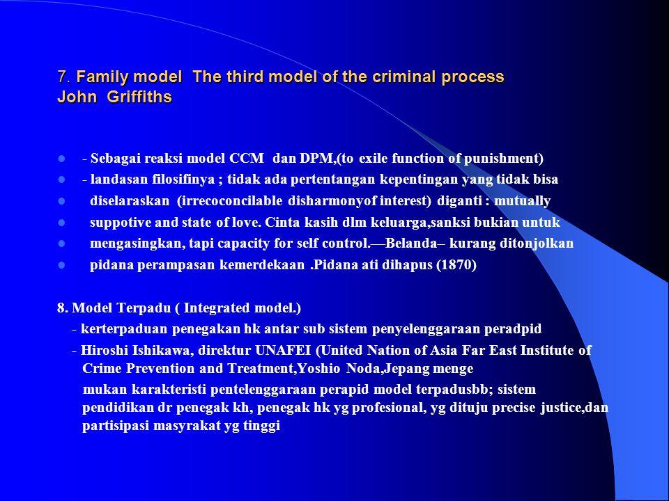 -- Tahap pemeriksaan di Pengadilan, diterapkan sistem accusatoir, dimulai dg menyampaikan berkas perkara kpd public proscutor yg harus menentukan apak