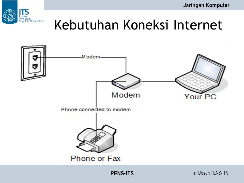 Tim Dosen PENS-ITS Jaringan Komputer PENS-ITS Kebutuhan Koneksi Internet