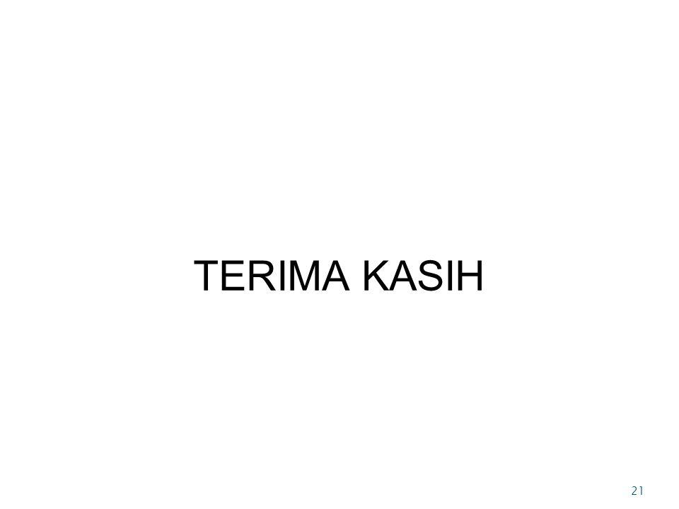 TERIMA KASIH 21