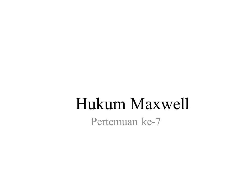 Hukum Maxwell Pertemuan ke-7