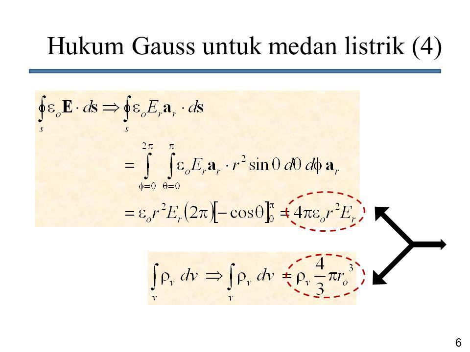 6 Hukum Gauss untuk medan listrik (4)