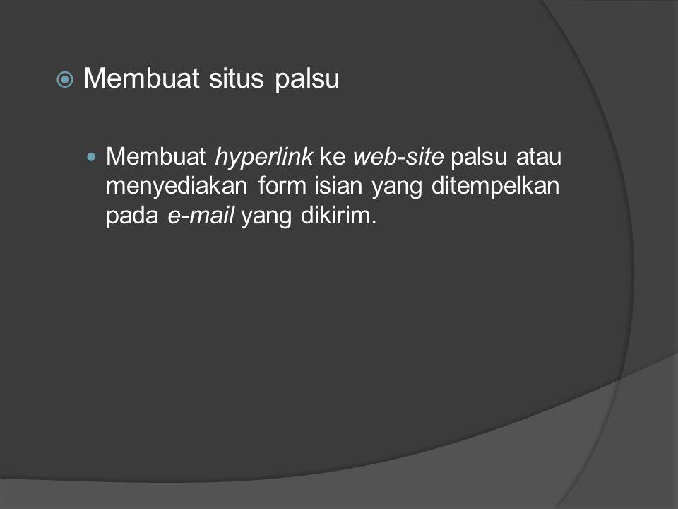 Situasi carding di Indonesia : 1.