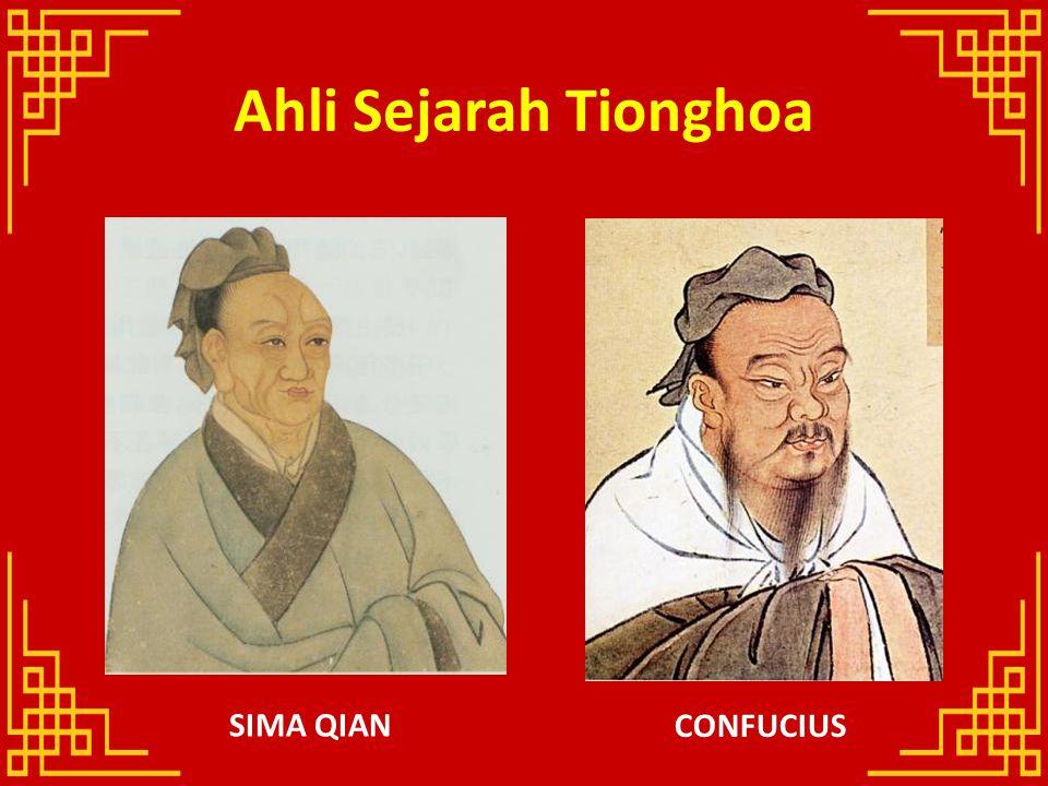 Ahli Sejarah Tionghoa CONFUCIUS SIMA QIAN