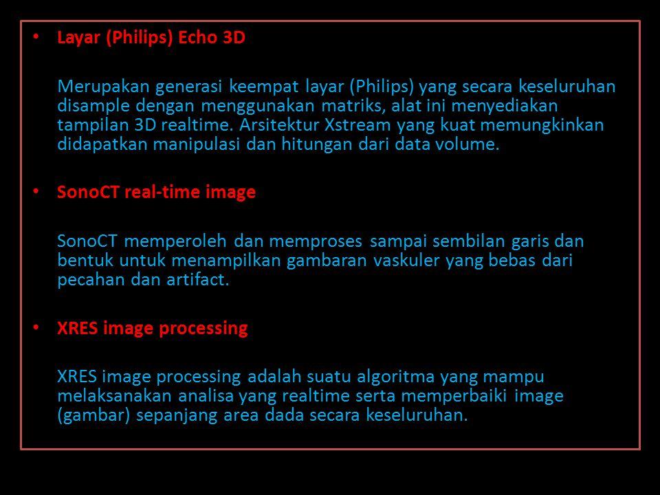 blok Diagram Echocardiography